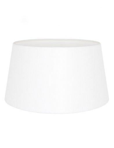 Weiße lampenschirm aus leinen-K1118QS