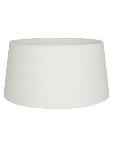 Weiße lampenschirm aus leinen-K1120QS