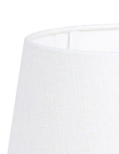 Weiße-leinen-lampenschirm-K1117QS-1