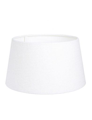 Weiße leinen lampenschirm-K1117QS