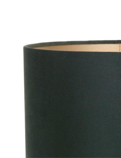 Zylinder-grüne-samt-lampenschirm-K6024VS-1