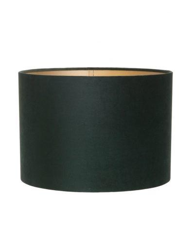 Zylinder grüne samt lampenschirm-K6024VS