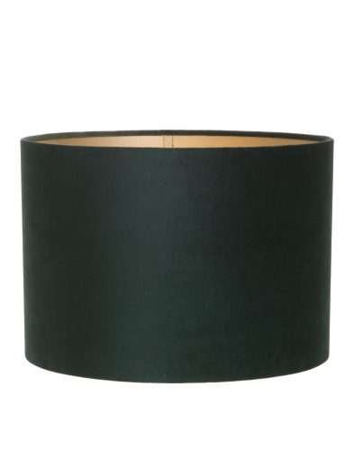 Zylinder grüne samt lampenschirm-K6025VS
