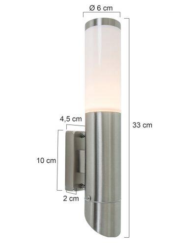 aussen-wandleuchte-stahl-opalglas-spritzwasserdicht-8579st-4