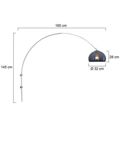design-wandleuchte-stahl-9938st-6