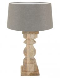 fensterbanklampe landhausstil taupe -9948be