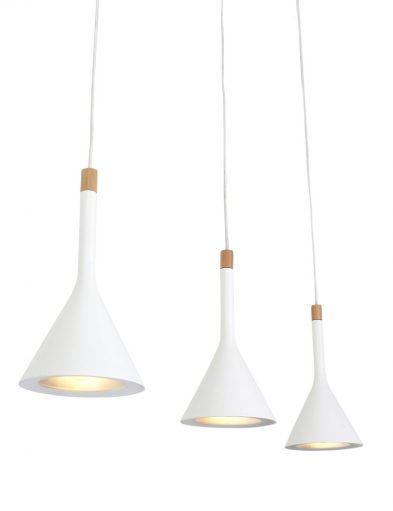 haengeleuchte mit drei lampen weiss-7807w