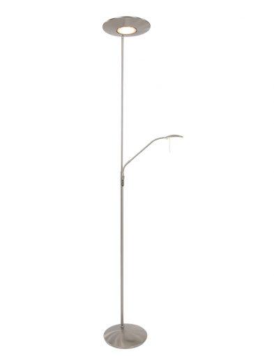 moderne stehleuchte stahlfarben-7972st