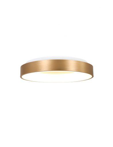 Deckenleuchte Ring Steinhauer Ringlede gold-2562GO