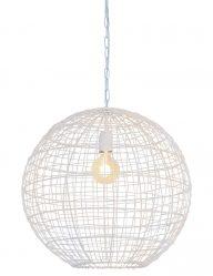 Runde Pendelleuchte Light & Living Mirana weiß-2851W