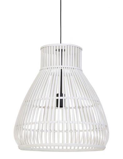 Pendelleuchte aus Holz Light & Living Timaka weiß-2868W