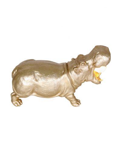 Tischlampe gold Light & Living Hippo-2924GO