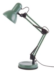 Verstellbare Schreibtischlampe grün-10086G