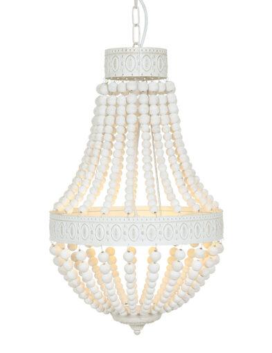 Kronleuchter Perlen Mexlite weiß-10191W