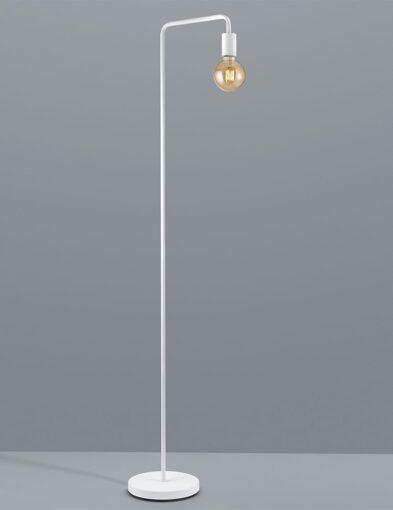 Minimaltische Stehleuchte weiß-2520W