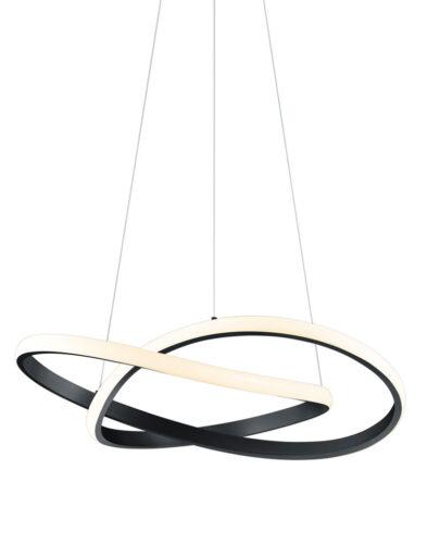 Moderne Designer Pendelleuchte schwarz-2552ZW