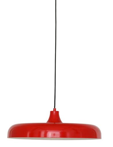Platte Pendelleuchte rot-2677RO