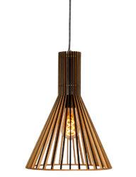 Natürliche Pendelleuchte Holz-2698BE