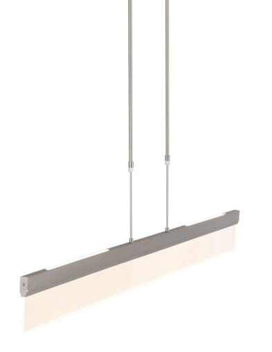 Schmale Hängeleuchte Stahl-2710ST