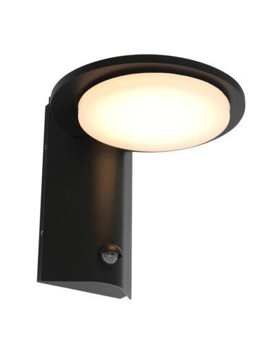 Außenwandleuchte mit Sensor schwarz-2714ZW