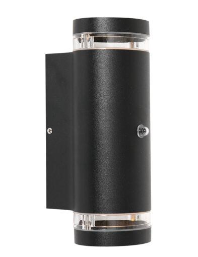 Außenbeleuchtung mit Sensor schwarz-2726ZW