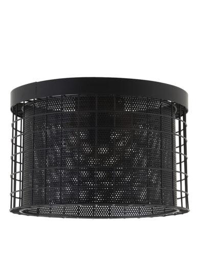 Deckenleuchte Käfig schwarz-2754ZW