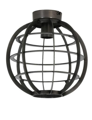 Käfiglampe Deckenleuchte schwarz-2755BR