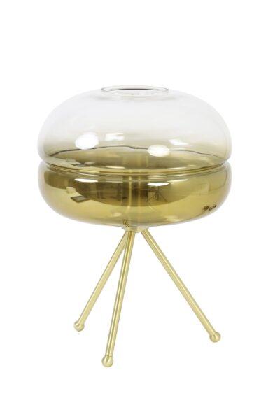 Schicke Tischleuchte stativ gold-2787GO