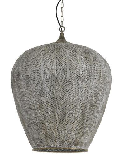 Hängeleuchte orientalisch grau-2789GR