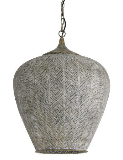 Orientalische Hängeleuchte grau-2790GR