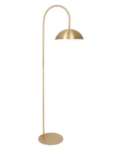 Stehlampe gebogener Arm gold-2831GO