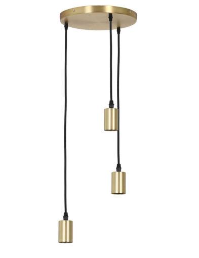 Dreiflammige Hängeleuchte gold-2839GO