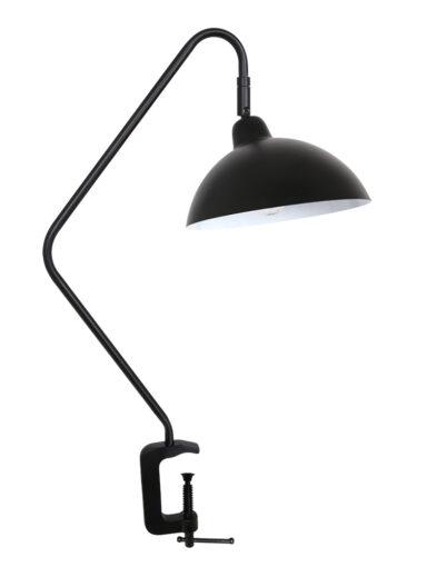 Tischleuchte Klemmleuchte schwarz-2901ZW