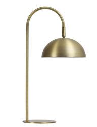 Gebogene Tischleuchte gold-2902GO