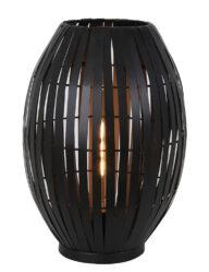 Stimmungsvolle Tischleuchte schwarz-2904ZW