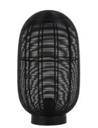 Drahtlampe Tischleuchte schwarz-2916ZW