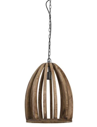 Pendelleuchte aus Holz braun-2942BE