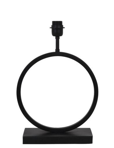 Runde Tischlampe schwarz-2960ZW