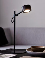 Verstellbare Designschreibtischlampe schwarz-3008ZW