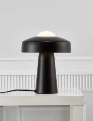 Metall Tischleuchte schwarz-3010ZW