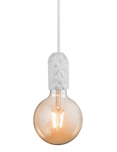 Slandinavische Hängeleuchte weiß-3028W