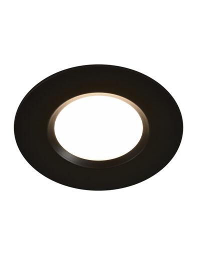 Wasserdichter runder LED Einbauspot schwarz-3031ZW