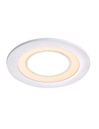Runder LED Einbaustrahler weiß-3035W