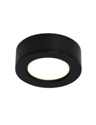 LED Einbaustrahler schwarz-3038ZW