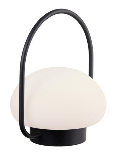 Aufladbare Außentischleuchte LED weiß-3043ZW