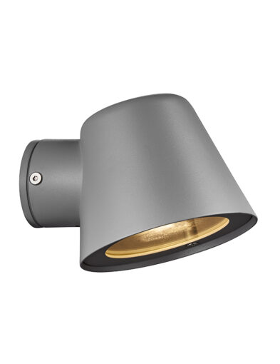 Moderne Außenwandleuchte grau-3044GR