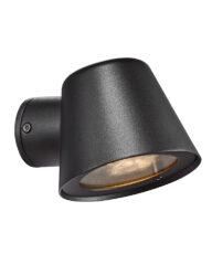 Außenwandleuchte aus Metall schwarz-3044ZW