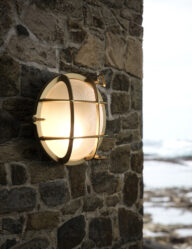 Goldene Schifffahrtslampe-3047ME