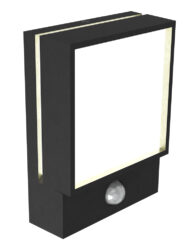 Außenlampe mit Bewegungsmelder schwarz-3048ZW