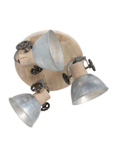 Deckenstrahler industriell Metall-3063NI
